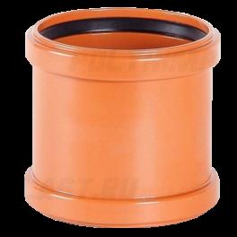 Муфта надвижная ⌀ 315 мм для наружной канализации