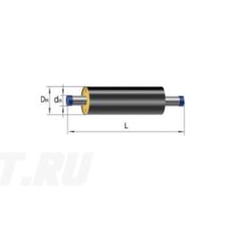 Труба Ст 530х8-1-ППУ-ПЭ в ППУ изоляции