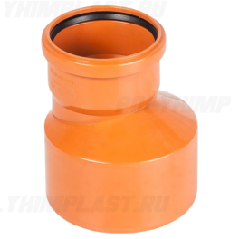 Переход ⌀ 315х250 мм для наружной канализации
