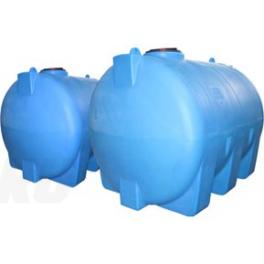 Горизонтальная пластиковая емкость на 2000 литров