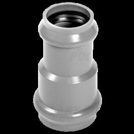 Переходник для напорных труб ПВХ ⌀ 110/90 мм