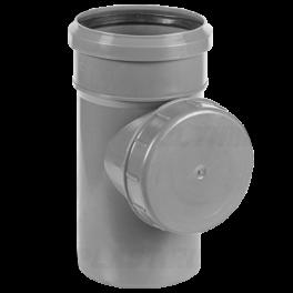 Ревизия ⌀ 110 мм для внутренней канализации