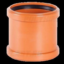 Муфта надвижная ⌀ 250 мм для наружной канализации