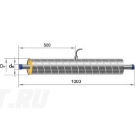 Элемент трубопровода Ст 133- 1-ППУ-ОЦ в ППУ изоляции