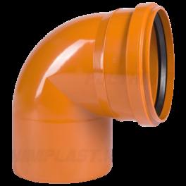 Отвод 90° ⌀ 400 мм для наружной канализации