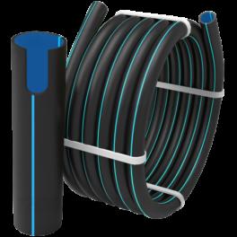 Труба ПЭ 100 SDR 11 PN16 ⌀ 200 мм