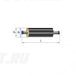 Труба Ст 108х4-1-ППУ-ПЭ в ППУ изоляции
