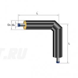 Отвод Ст 133х4-ППУ-ПЭ в ППУ изоляции