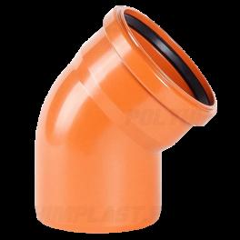 Отвод 45° ⌀ 400 мм для наружной канализации