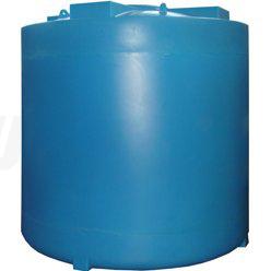 Пластиковая вертикальная емкость на 8 кубов для воды