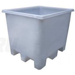 Пластмассовый контейнер для переработки мяса и рыбы