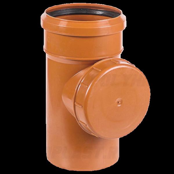 Ревизия ⌀ 110 мм для наружной канализации