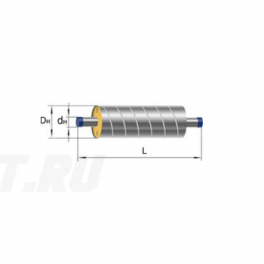 Труба Ст 426х7-1-ППУ-ОЦ в ППУ изоляции