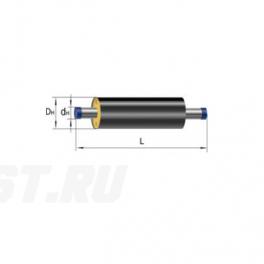 Труба Ст 76х3,5-1-ППУ-ПЭ в ППУ изоляции