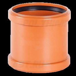 Муфта надвижная ⌀ 160 мм для наружной канализации