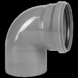 Отвод 90° ⌀ 50 мм для внутренней канализации