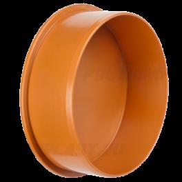 Заглушка ⌀ 110 мм для наружной канализации