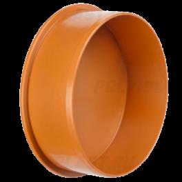 Заглушка ⌀ 160 мм для наружной канализации