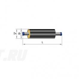 Труба Ст 32х3,2-1-ППУ-ПЭ в ППУ изоляции