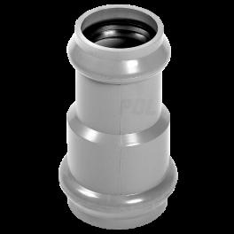 Переходник для напорных труб ПВХ ⌀ 225/110 мм