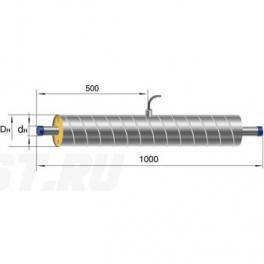 Элемент трубопровода Ст 89- 1-ППУ-ОЦ в ППУ изоляции