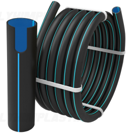 Труба ПЭ 100 SDR 11 PN16 ⌀ 225 мм