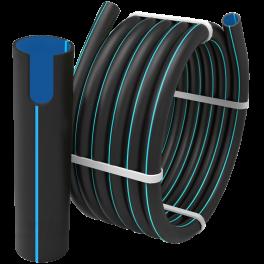 Труба ПЭ 100 SDR 11 PN16 ⌀ 75 мм