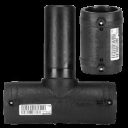 Тройник FRIALEN с патрубком и муфтой ⌀ 63 мм